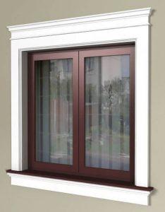 Fensterfaschen gestalten